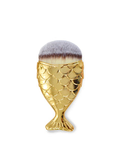 MERMAID MAKEP BRUSH - GOLD