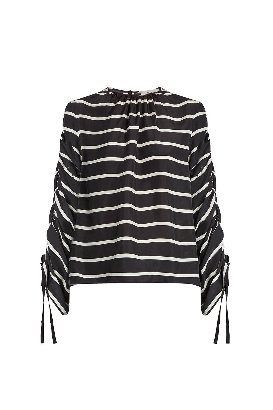 WILL STRIPED SILK TOP - PREEN - MCPOPS