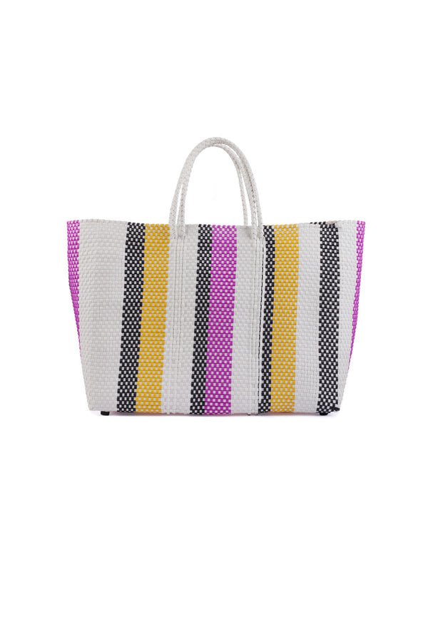 Truss | Multi Striped Large Tote | MCPOPS