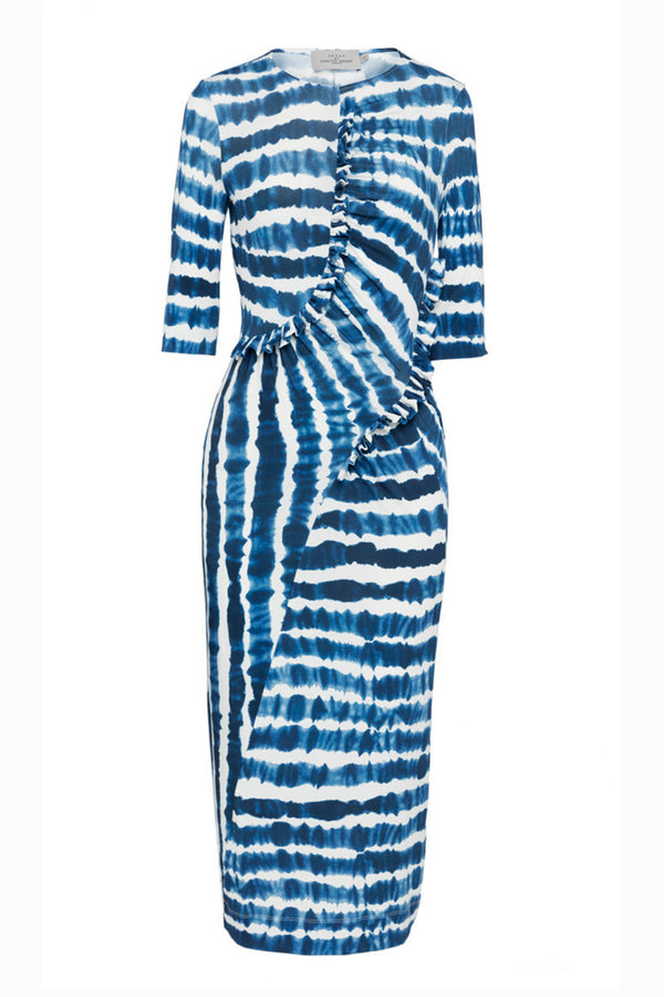 Preen By Thornton Bregazzi | Marlena Blue Tie Dye Dress | MCPOPS