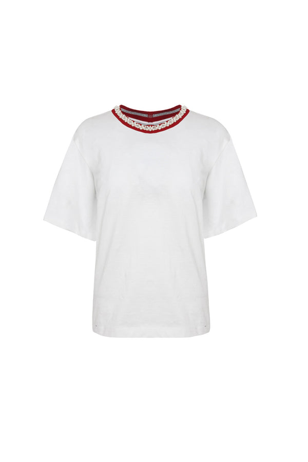 CHARLIE WHITE JERSEY T-SHIRT