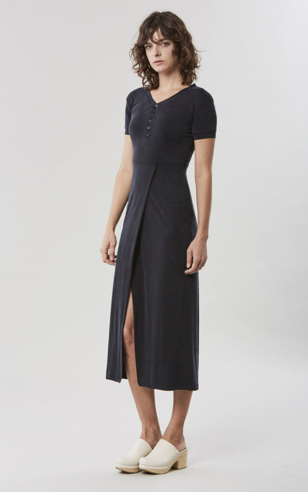 ISOTOPE CARDAMON CHARCOAL DRESS