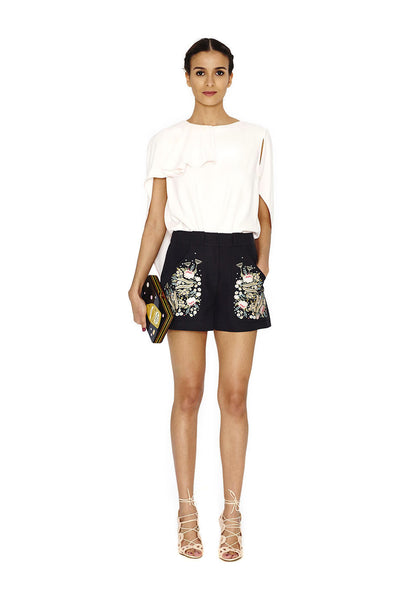 OLGA EMBROIDERED SHORTS