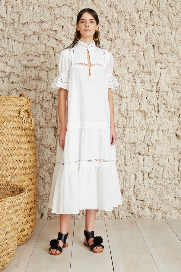 LOS ALTOS WHITE DRESS