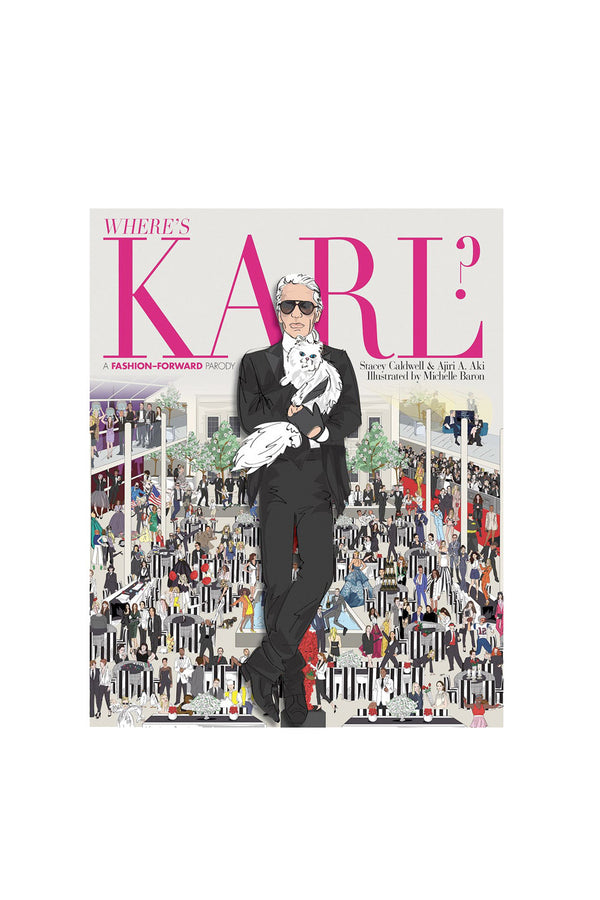 WHERE'S KARL?: A FASHION-FORWARD PARODY BOOK - MCPOPS