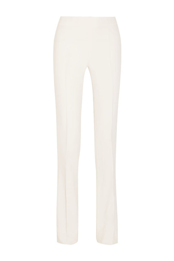 CREPE WHITE PANTS