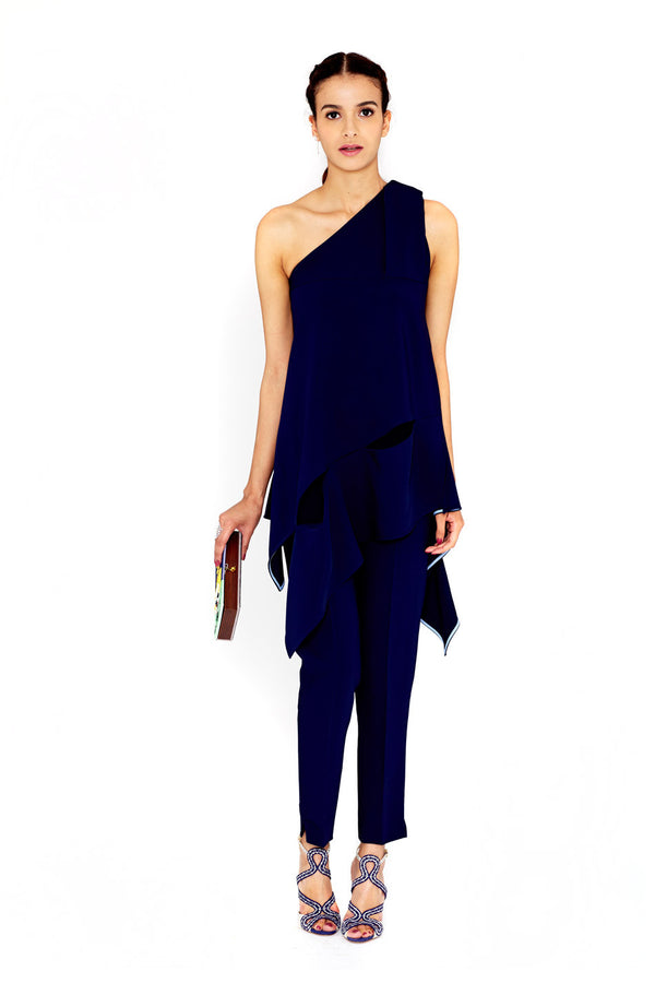 ASYMMETRIC ONE SHOULDER TUNIC - ANTONIO BERARDI - MCPOPS