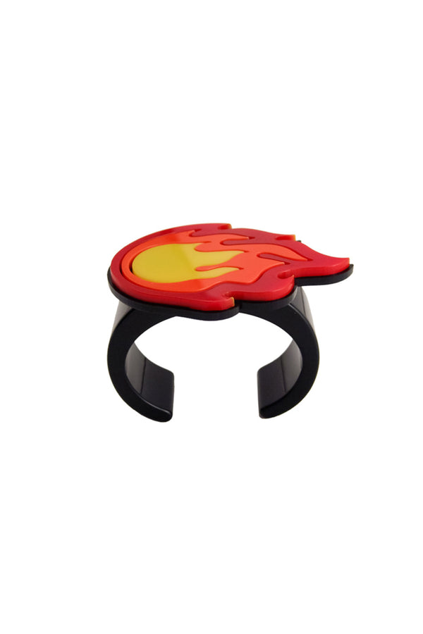Yazbukey | Light My Fire Plexi and Resin Bracelet | MCPOPS