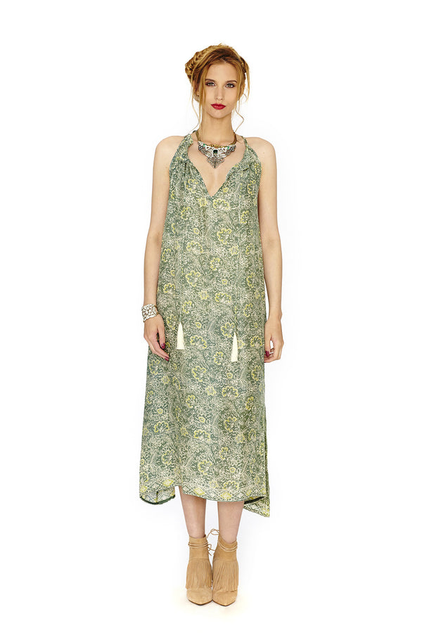 MARLIEN GREEN DRESS