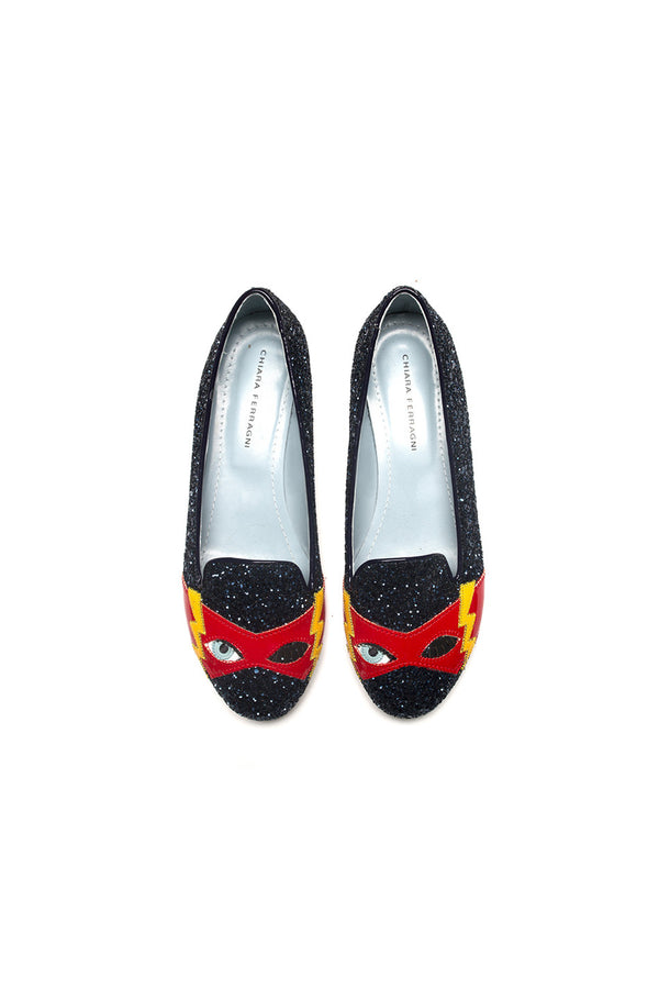 SUPERHERO NAVY SLIPPERS