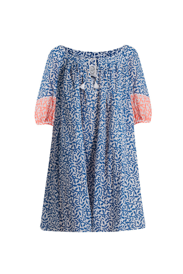 Thierry Colson | Eva Printed Cotton Dress | MCPOPS