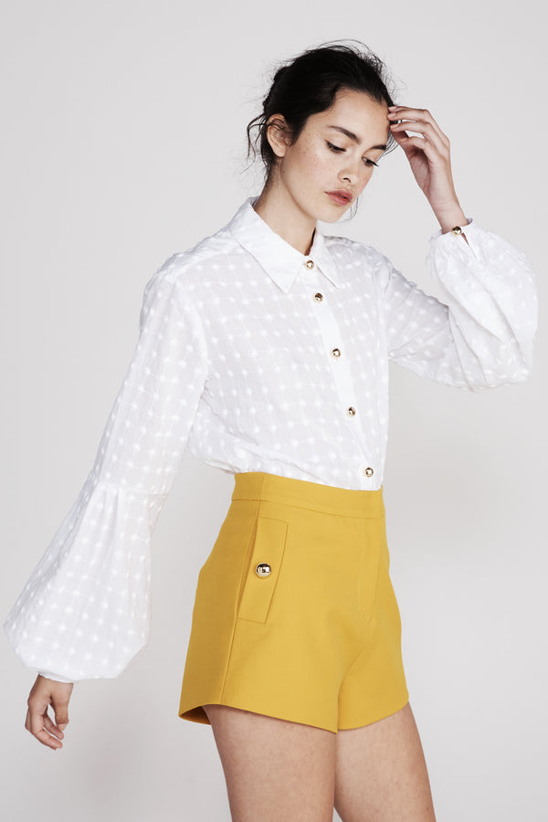 MacGraw | Bloom White Blouse | MCPOPS