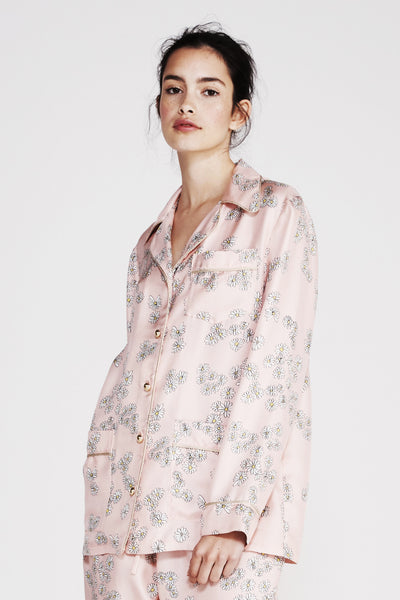 MacGraw | He Loves Me Not Pink Pajama Top | MCPOPS
