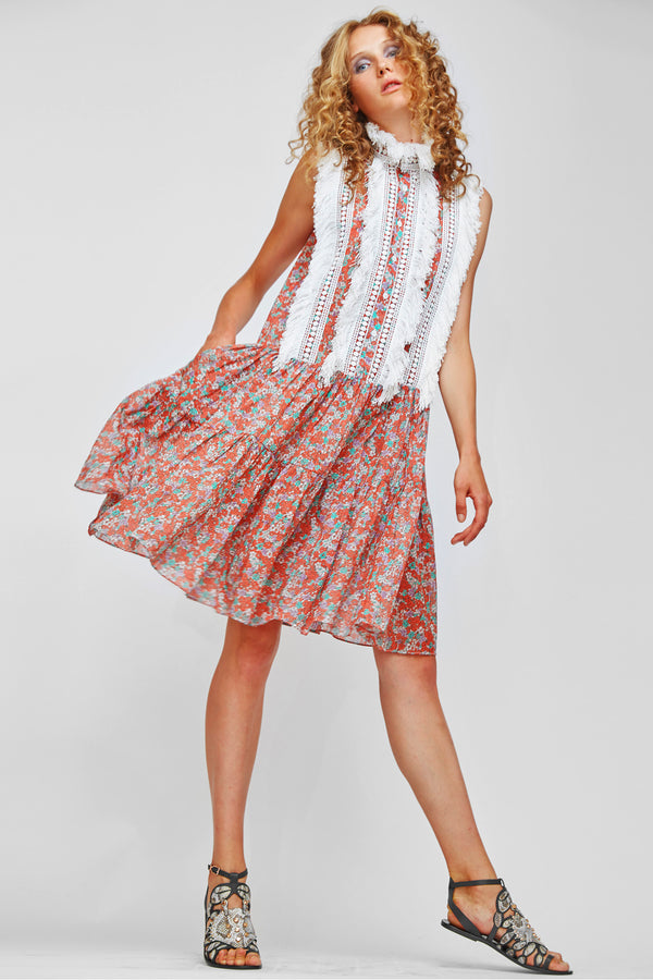 PLIMSOLE FLORAL DRESS