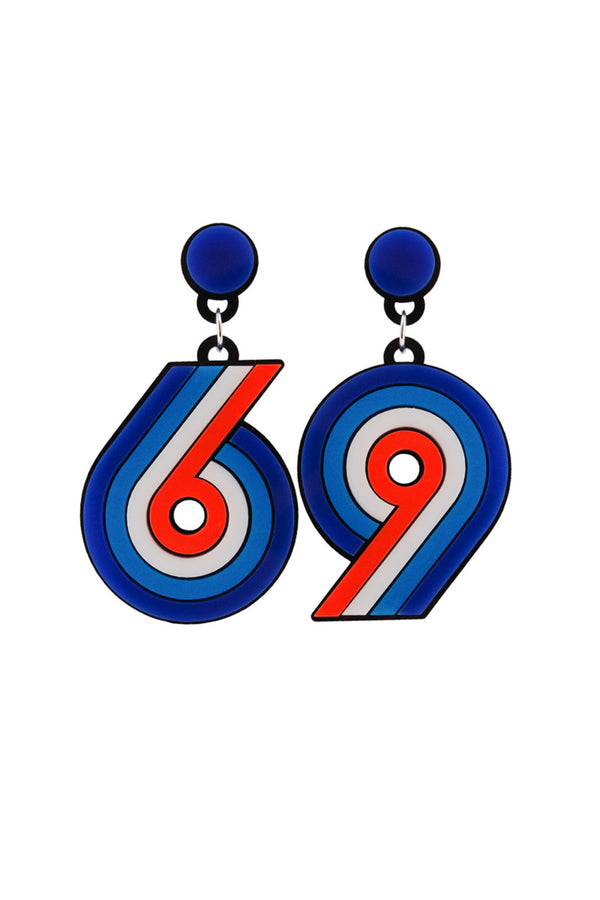 Yazbukey | Sixty-Nine Plexi Earrings | MCPOPS