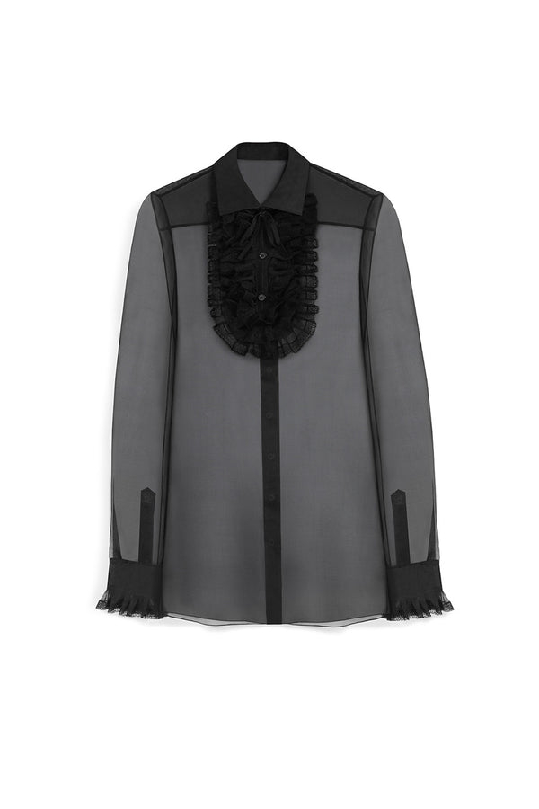 SHEER ORGANZA DARCY BLOUSE