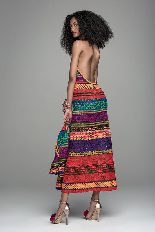 TULUM HALTER DRESS
