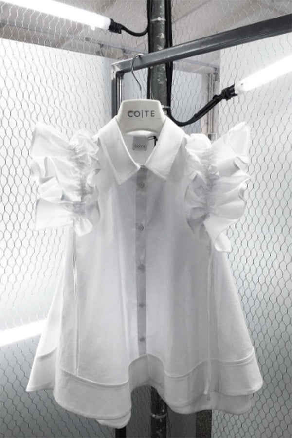CO|TE | Lucy White Shirt | MCPOPS