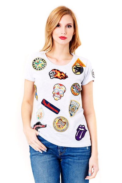 History Repeats | Embellished T-Shirt | MCPOPS