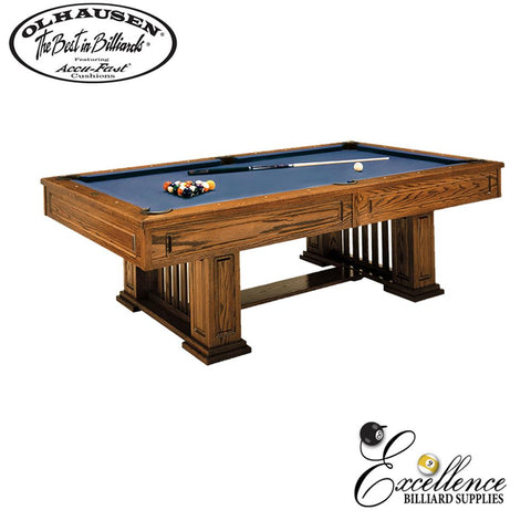 Olhausen Pool Table Monterey 8' - Excellence Billiards NZL