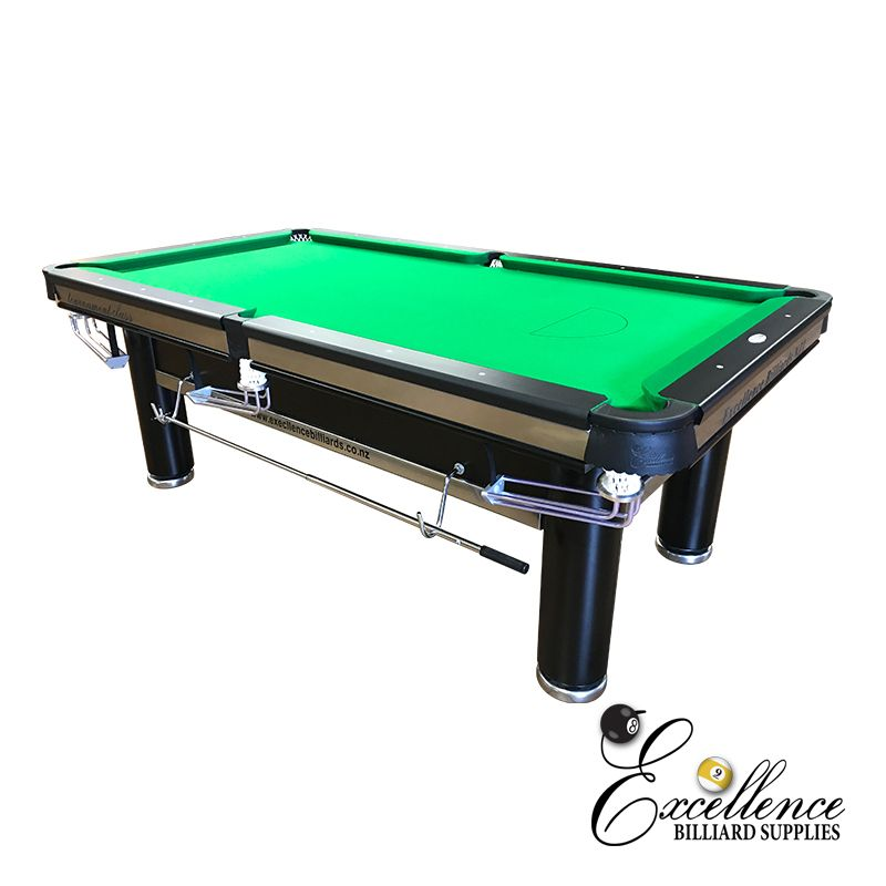 7' Excellence Tournament Pool Table - Deluxe - Excellence Billiards NZL