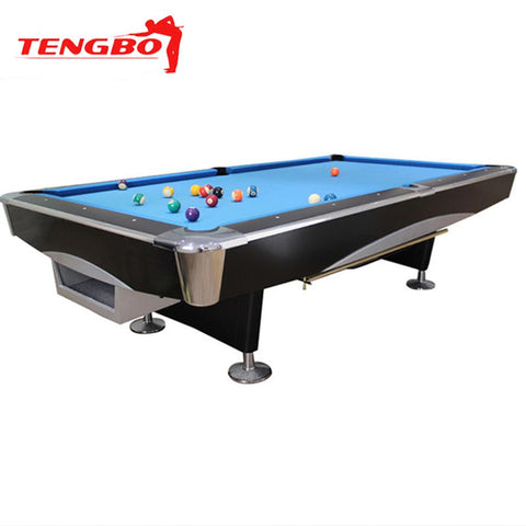 Tengbo 9' Pool Table 4th Generation - EX Pool Room