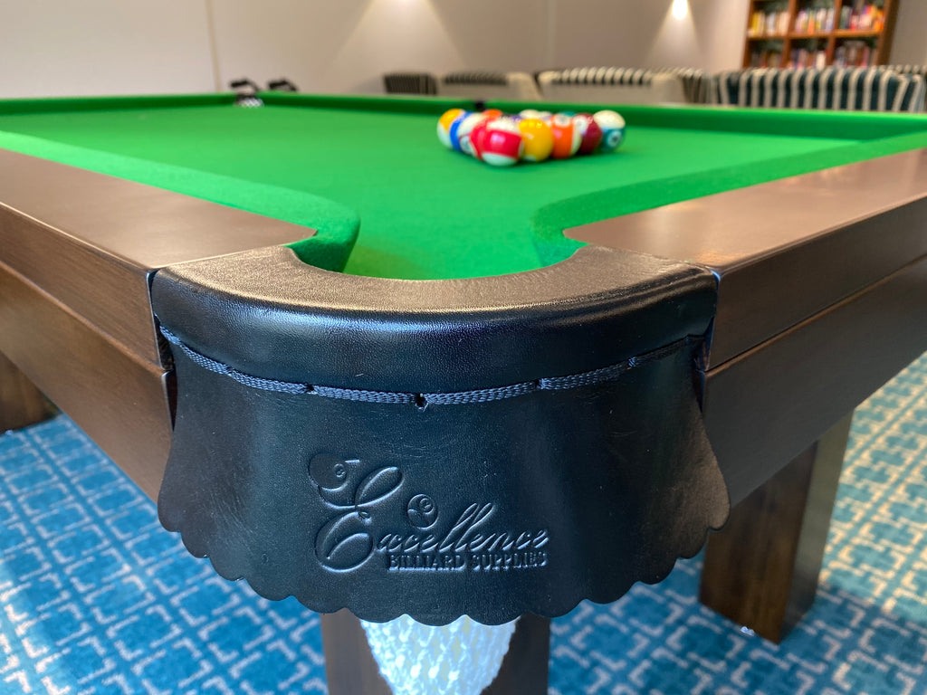 7' Liverpool Pool Table - American Walnut - Excellence Billiards NZL