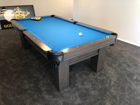7' Rosario II Pool Table (Smokey Grey Finish) - Excellence Billiards NZL