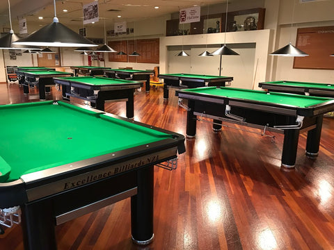 Tournament Pool Tables