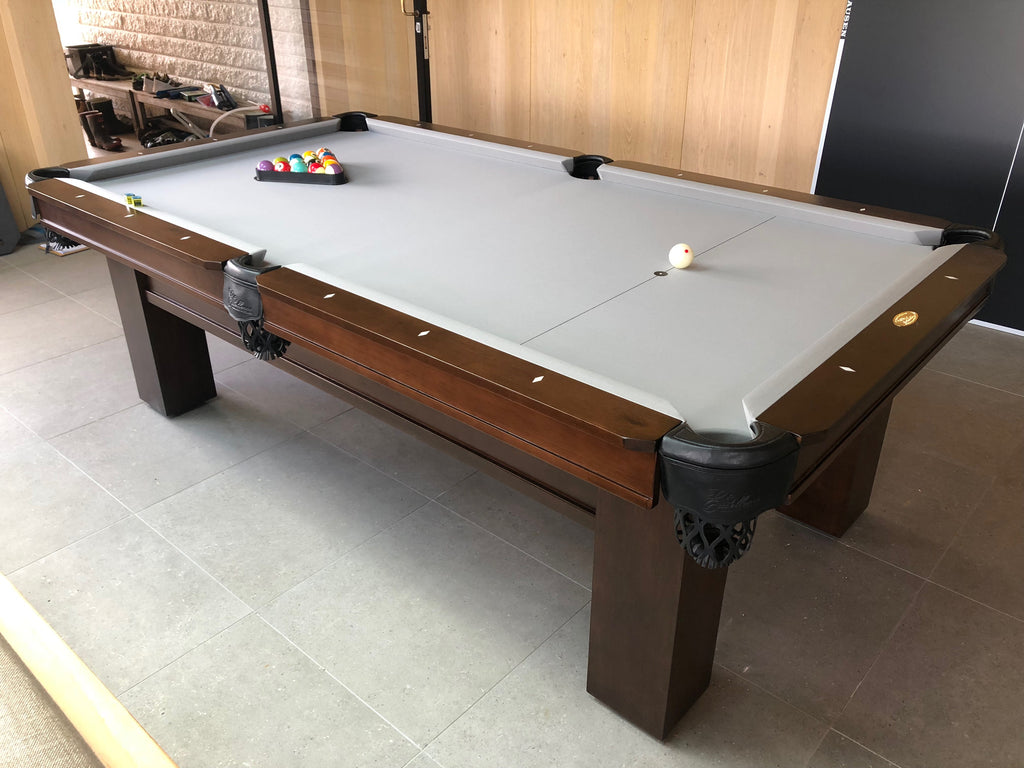 8' Rosario II Pool Table (American Walnut Finish) - Excellence Billiards
