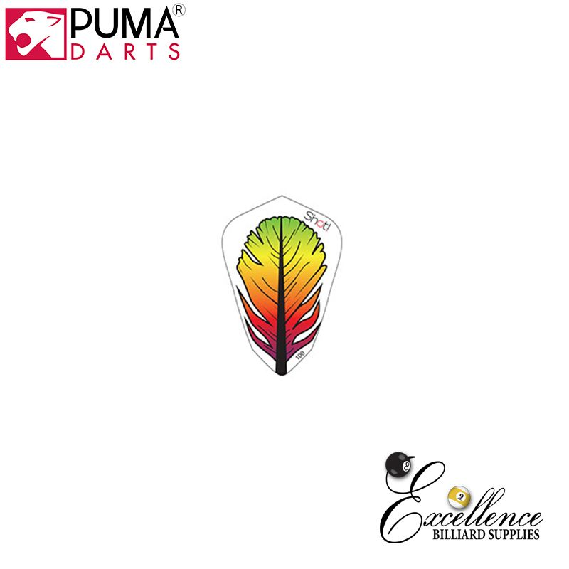 Puma Darts Feather Lantern Flights - Excellence Billiards NZL