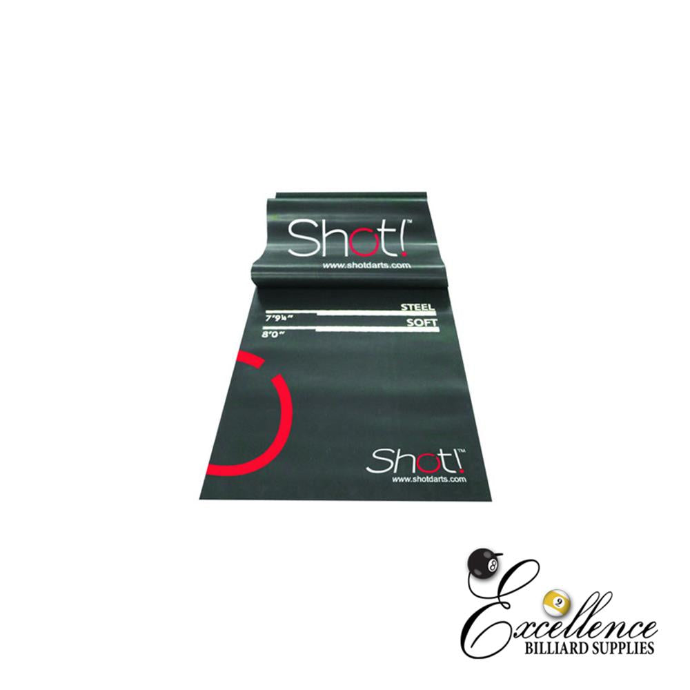 SHOT Professional Dart Mat - Excellence Billiards