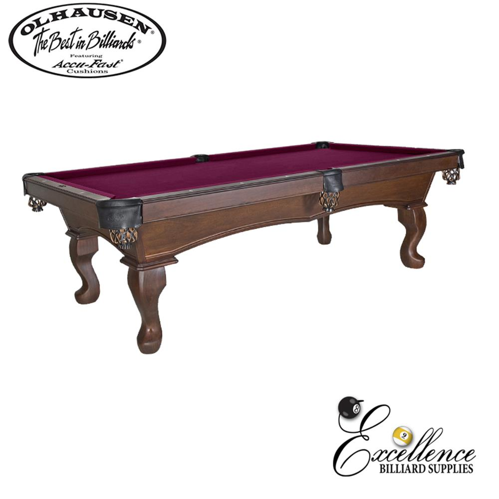 Olhausen Pool Table Americana II 8' - Excellence Billiards NZL