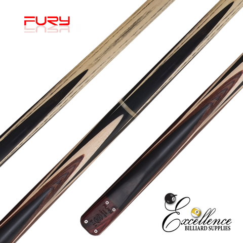 "FURY (B-2B)  57""2-PC(3/4)ASH SNOOKER CUE - Excellence Billiards"