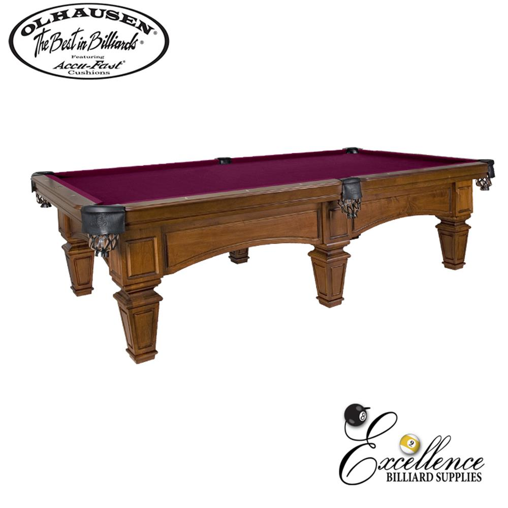 Olhausen Pool Table Belle Meade 8' - Excellence Billiards NZL