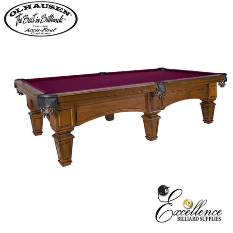 Olhausen Pool Table Belle Meade 8' - Excellence Billiards