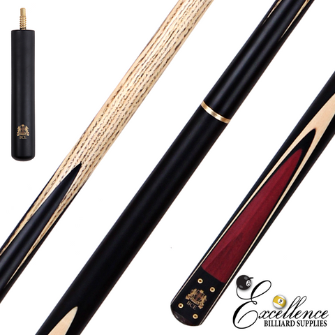 BCE Heritage 3/4 Snooker Cue + Case (BHC-2UK) - Excellence Billiards NZL