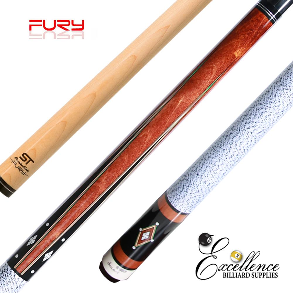 "FURY (BL-1) 58"" 2-PC POOL CUE"