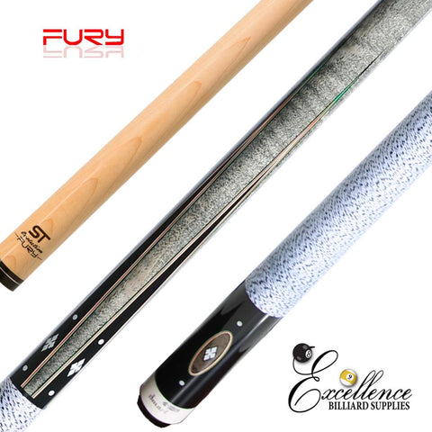 "FURY (BL-2) 58"" 2-PC POOL CUE"
