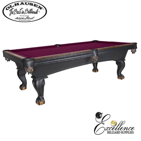Olhausen Pool Table Blackhawk 8' - Excellence Billiards NZL