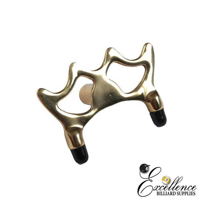 Brass Bridge/Rest Head - Low - Excellence Billiards NZL