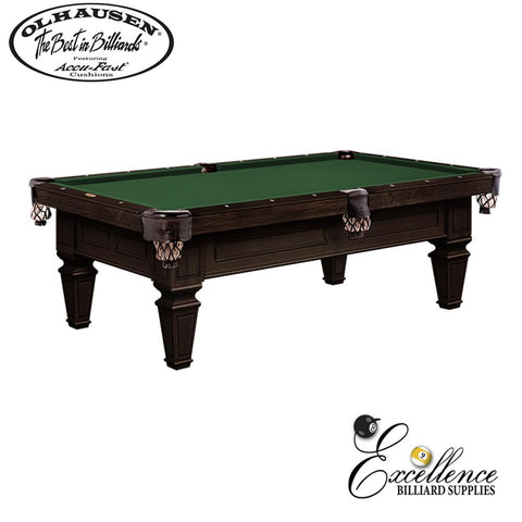 Olhausen Pool Table Brentwood 8' - Excellence Billiards NZL