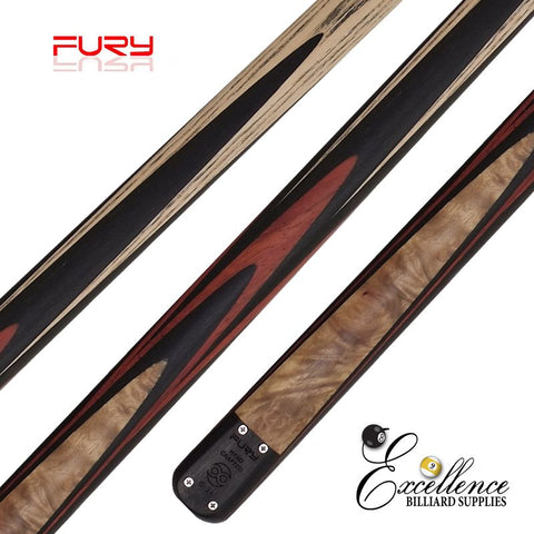 "FURY (C-2B) 57""2-PC(3/4)ASH SNOOKER CUE"