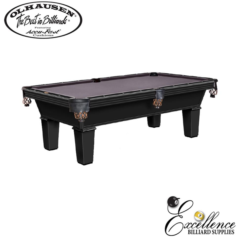 Olhausen Pool Table Classic 8' - Excellence Billiards NZL