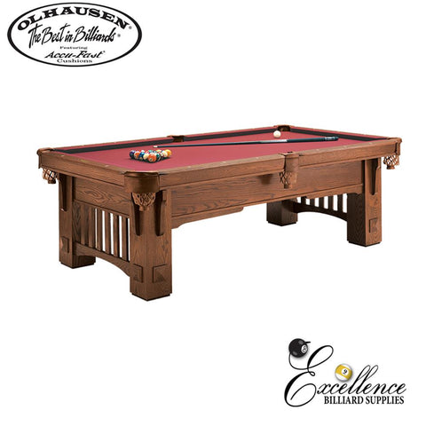 Olhausen Pool Table Coronado 8' - Excellence Billiards NZL