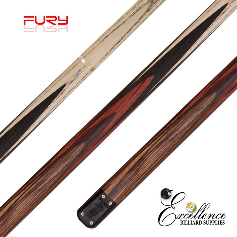 "FURY (D-5B) 57""2-PC(3/4)ASH SNOOKER CUE"