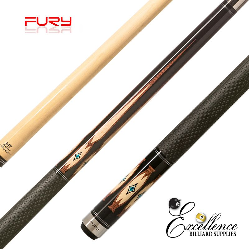 "FURY (DE-1) 58"" 2-PC POOL CUE"