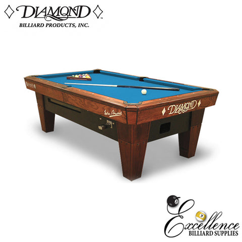 Diamond Smart Table - Coin Operated - Excellence Billiards
