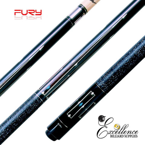 "FURY (DL-1) 58"" 2-PC CUSTOM DECAL CUE"