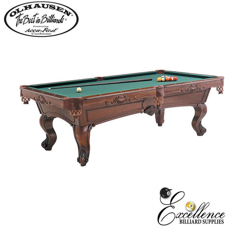 Olhausen Pool Table Dona Marie 8' - Excellence Billiards NZL
